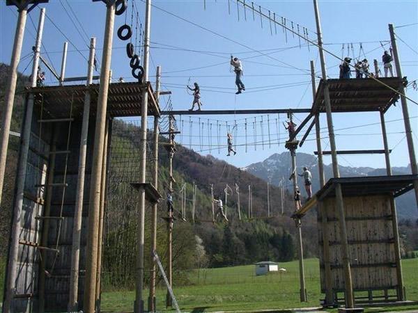 klettern, Hochseilgarten, Hochseil, Kletterwald, klettersport, Sport in Aschau