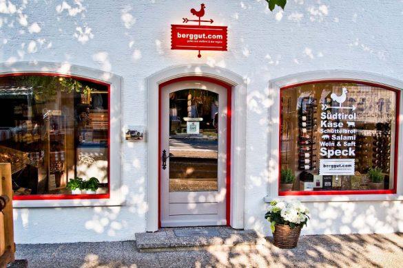 berggut Geschäft in Aschau